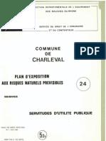 PLU Charleval PPR Seisme Pdg