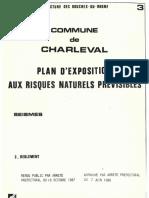 PLU Charleval PPR Seisme 3 Reglement