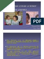 Caracteristicas as de Las Lenguas de Origen Del Alumnado Inmigrante Manuel Pinos y Paco Bailo. Fuente CEP Marbella Coin Intercultural Id Ad