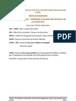 Programme Fildak