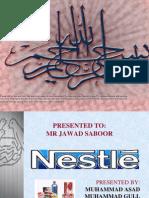 Nestle Project Slides