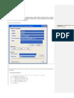Agenda muy simple en Visual basic utilizando Ficheros de acceso aleatorio o también denominados Random