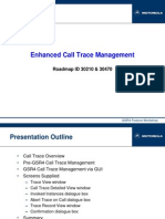 Call Trace Management