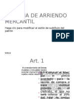 COMPÑIA DE ARRIENDO MERCANTIL