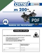 Custom 200 - Manual Del rio
