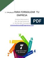 7 Pasos Para Formalizar Tu Empresa