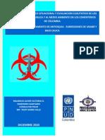 Diagnostico Situacional y Evaluacion Cualitativa de Los Riesgos a La Salud Publica y Al Medio Ambiente en Los Cementerios en Colombia