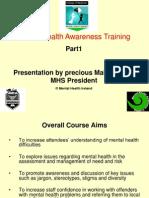 Precious Makiyi Mental Health Presentation
