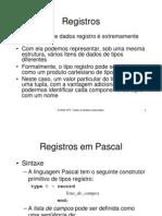 Registros Pascal