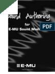 Sound Authoring for E-MU