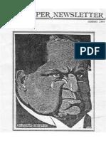 Kuyper Newsletter 1 (1) Jan 1980