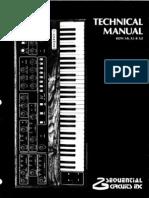 SequentialCircuits_Prophet5_TechManual
