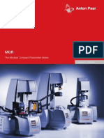 MCR the Modular Compact Rheometer Series