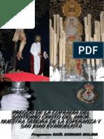 Pregón del Costalero de la Esperanza por Raúl Soriano en 2010