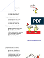 Folks With Sin, A Missionary's Tribute to Dr. Seuss