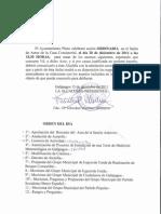 Orden del día pleno ordinario 20 de diciembre 2011