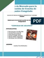Estudio de Mercado para la Exportación Conchas de Abanico