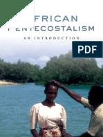 African Pentecotalism