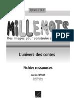 Mille Mots, Ressources, Maternelle