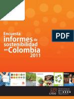 Encuesta de Informe de Sostenbilidad Colombia 2011