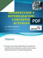 Desinfeccion y Esterilizacion Conceptos Actuales