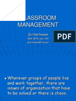 Classroom Management Updated