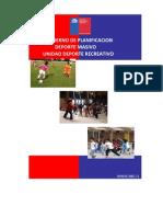 CUADERNO DE PLANIFICACIÓN DEPORTE RECREATIVO 2011oficce 2003