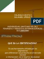 Certificadoras Int.