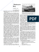Field Artillery Journal Articles - Utilizing Tank Destroyers as Artillery & Tank Destroyers in the Roer River Crossing