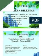 Projeto Integrado Billings