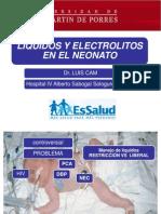 Liquidos y Electrolitos en El Neonato