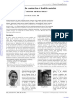 Anna Carlmark, Craig Hawker, Anders Hult and Michael Malkoch- New methodologies in the construction of dendritic materials