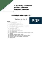 Metodo de Corte y Confeccion Sistema Teniente Caps XLIV a XLIX by Aedra