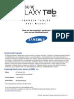 Generic Gt-p7510 Galaxy Tab 10-1 English User Manual