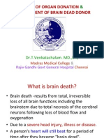 Basics of Organ Donation & Management of Brain Dead Donor