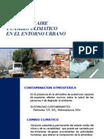 Calidad de Aire y Cambio Climatico en El Medio Urbano