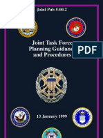 Joint Task Force Planning Guidance and Procedures(99)