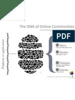 DNA of Online Communities - © Stephanie Lamy & Web Community Management sas 2011