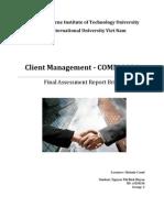 Client Final Report