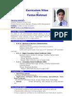 Fardus CV Final