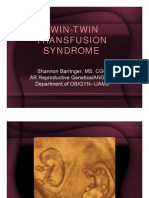 Barringer - Twin-twin Transfusion Syndrome Pnc2010