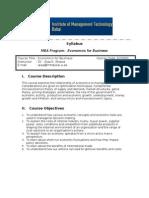 Economics for Business 2