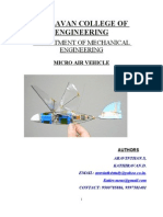 MICRO AIR VEHICLE