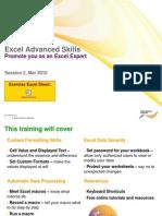 2010 03 24+Excel+Advanced+Skills+Training+2