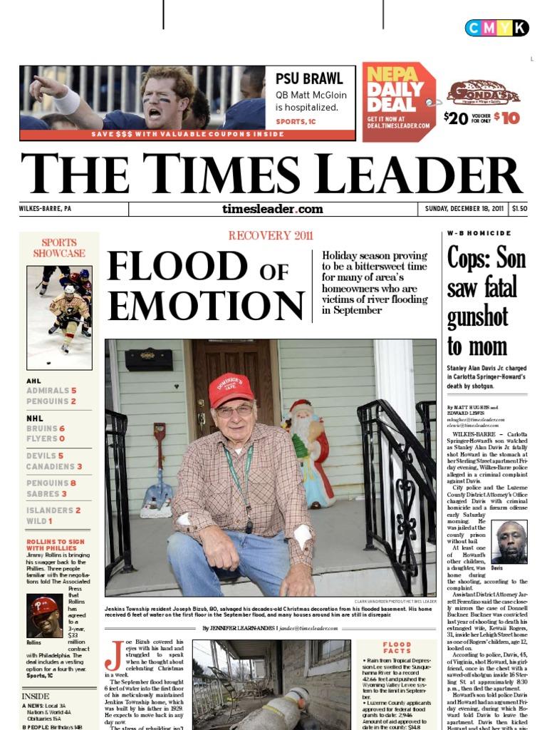 Times Leader 12-18-2011   Powerball   Mega Millions 6b5268e1cc