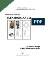 Elektronika III - Mehatronika