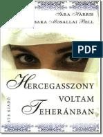 63913936 Sara Harris Amp Barbara Mosallai Bell Hercegasszony Voltam Teheranban