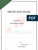 39307413 MIS of ICICI Bank Final Copy
