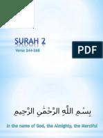 QR 012a Surah 002-244-268