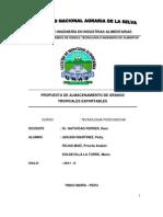 Propuesta de Almacenamiento de Granos Tropic Ales Ex Portables